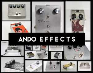 Ando Effects custom built guitar pedals gallery